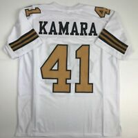 New ALVIN KAMARA New Orleans Color Rush Custom Stitched Football Jersey Men's XL
