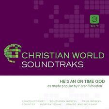 Karen Wheaton - He's An on Time God - Accompaniment CD New