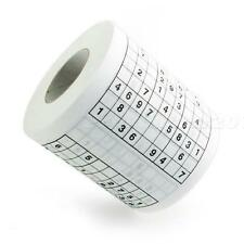 Hot Funny Game  SUDOKU Toilet Paper Roll Game loo Tissue Novelty Gift JNEG N