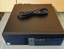 (1) Dell Optiplex 7040 SFF core i7-6700 3.40Ghz, 8GB, 256GB SSD, DVD, W10 Pro
