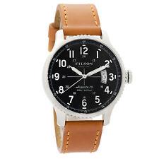 Filson by Shinola Mackinaw Field Men's Watch Stainless Made in USA F0120072832