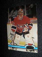 1991-92 Topps Stadium Club  #107 Patrick Roy Montreal Canadians Goalie NrMt