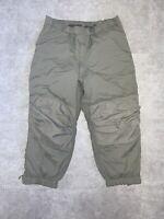 ECW Gen III PCU Level 7 Primaloft Insulated Snow Pants LR (Jade) New A-10