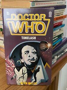 doctor who target book -  TIMELASH - 1st edition