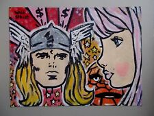 Will $treet  :  Peinture Originale sur Toile  ,  Comics Graffiti Art