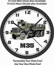 M35 MILITARY TRUCK WALL CLOCK-ARMY, MARINES, WORLD WAR II, KOREA