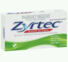 ZYRTEC 70 tablets Hay Fever Relief value pack - OzHealthExperts