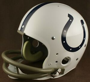 BALTIMORE COLTS 1957-1976 NFL Authentic THROWBACK Football Helmet