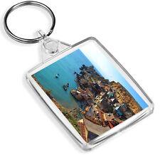 Anchor Bay Malta Keyring Popeye Village Maltese Travel Beach Keyring Gift #8997