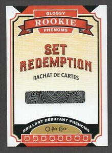 2020-21 O-Pee-Chee GLOSSY ROOKIE PHENOMS SET REDEMPTION GRR-1 1:2160 Packs
