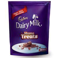 Cadbury Dairy Milk Milk Chocolate Home Treats Pack 140 gm 20 Units Free Ship