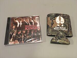 Larry Lane Benoit Whitetail Kings CD & Master Tracker Silent Predator Coozie NEW