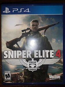Sniper Elite 4 - PS4 PlayStation 4 Mint Disc