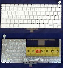 "Tastiera QWERTY Apple MacBook 13.3"" A1181 A1185 US BIANCO senza retroilluminata"