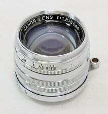 Canon Lens 50mm f/1.8 for LTM (Screw Mnt) Rangefinder Cameras- MUST READ! (6997)