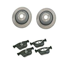Mercedes W164 ML63 W251 R63 AMG Rear Left And Right Brake Rotors and Pads Kit
