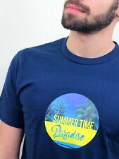 Summer Time Paradise Mens T-Shirt Hawaii Beach Aloha Party Holiday Funny Gift