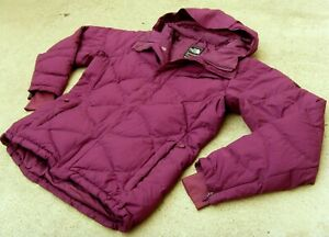THE NORTH FACE SUMMIT SERIES HELICITY RECCO 600 DOWN JACKET Women Sz M Burgundy