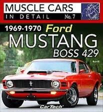 1969-1970 FORD MUSTANG BOSS 429 - BURRILL, DAN/ ALDRIDGE, DENNY (CON) - NEW PAPE