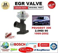 FOR PEUGEOT 306 2.0HDi 90 1999-2002 Pneumatic EGR VALVE **BRAND NEW BOXED**