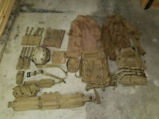 Airsoft Gear Lot - Desert / Tan, Plate Carrier, Backpack, Helmet, Etc