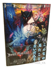 Devil May Cry 5 Official Art Works Capcom  Illustration Art Book Japanese DMC