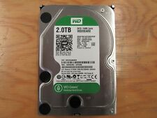 "WD GREEN 2TB 3.5"" SATA 3.0 HARD DRIVE 64MB Cache WD120EARX"