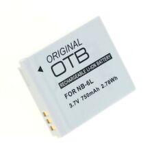 Original OTB Accu Batterij Canon NB-6L Akku Battery Bateria - 650mAh