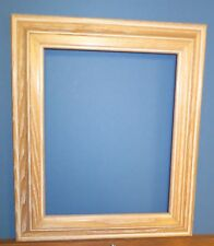 Distressed Oak 8 x 10 Hanging Frame With Glass/Backing/Hardware