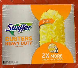 Swiffer 360 Dusters Heavy Duty Refills 11 Count Uniquely Designed to Trap