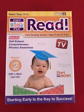 Your Baby Can Read DVD and Word Card Set Volume 2  - DVD SEALED