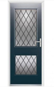 Ultimate Virginia Rockdoor Unique Style and all Colours 10 year guarantee