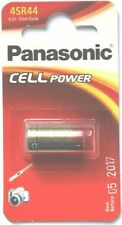 Panasonic Silver Oxide SR44 Single Use Batteries