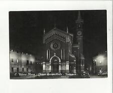 99232  san vittore olona chiesa parrocchiale di notte