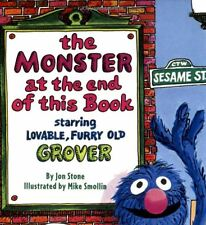 The Monster at the End of This Book, Hardcover, Kids Lover, Preschool, Fast ship