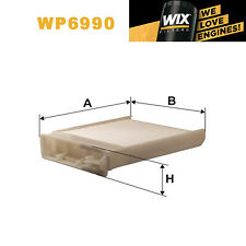 1x Wix Pollen Filter WP6990 - Eqv to Fram CF9691