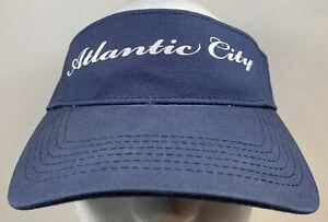 Atlantic City Hat Casino Gamble Cards Poker Slots Game Cap Money Beach Travel
