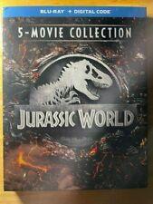 Jurassic World 5-Movie Collection (Blu-ray Disc) + Digital Code - BRAND NEW
