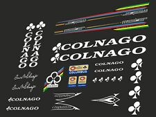 Colnago Super mid to late 75-79 decal adesivi bici stickers