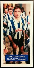 FRANCE - SHEFFIELD WEDNESDAY - ERIC CANTONA - Score UK football trade card