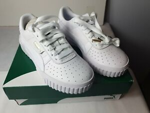 Puma Cali Wns White Womens Uk 3 369155 trainers sneakers fashion quality