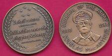 USA MEDAL GENERAL DOUGLAS MacARTHUR COMMEMORATIVE MEDAL 1880-1964 UNC
