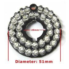 2pcs 36LEDs 5mm Infrared 90 Degrees Bulbs IR Board Illuminator For CCTV Camera