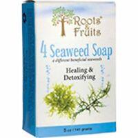 Roots & Fruits Bar Soap 4 Seaweed 5 Oz