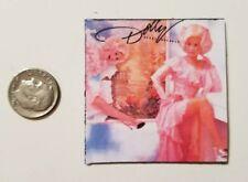 "Miniature record album Barbie Gi Joe  Playscale1/6 2"" Dolly Parton Heartbreaker"
