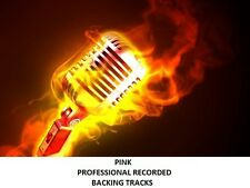 31 PINK PROFESSIONAL RECORDED BACKING TRACKS