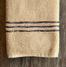 Missoni Astra Hand Towel, color 19 Linen with embroidered stripes