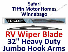 "Wiper Blade Safari Tiffin Motor Homes Winnebago RV Hook Arm Wiper 32"" 67324"