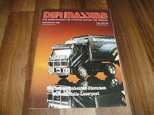 Der Masstab 5/1988 -- Magazin für Autofans / Feuerwehr+THW / Kraftverkehr Klaus