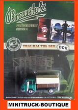 Braustolz - Traumautos der DDR (Nr. 19) +++ IFA Barkas B1000 Pritsche + Plane